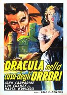 House of Dracula - Italian Movie Poster (xs thumbnail)