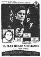 Le clan des Siciliens - Spanish Movie Poster (xs thumbnail)
