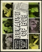 Because of Eve - British Movie Poster (xs thumbnail)
