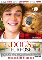 A Dog's Purpose - Dutch Movie Poster (xs thumbnail)