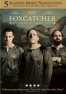 Foxcatcher - DVD cover (xs thumbnail)