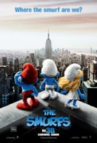 The Smurfs - British Movie Poster (xs thumbnail)