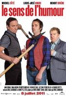 Le sens de l'humour - Canadian Movie Poster (xs thumbnail)