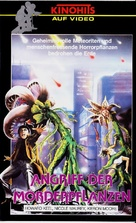 The Day of the Triffids - German VHS movie cover (xs thumbnail)