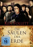 """The Pillars of the Earth"" - German DVD movie cover (xs thumbnail)"