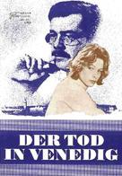 Morte a Venezia - German Movie Poster (xs thumbnail)