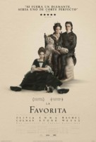 The Favourite - Mexican Movie Poster (xs thumbnail)