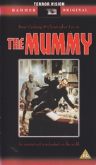 The Mummy - British VHS movie cover (xs thumbnail)