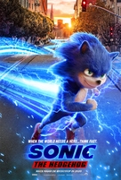 Sonic the Hedgehog - Dutch Movie Poster (xs thumbnail)