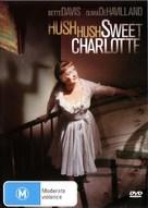 Hush... Hush, Sweet Charlotte - Australian DVD movie cover (xs thumbnail)