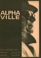 Alphaville, une étrange aventure de Lemmy Caution - Czech Movie Poster (xs thumbnail)