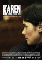 Karen llora en un bus - Colombian Movie Poster (xs thumbnail)