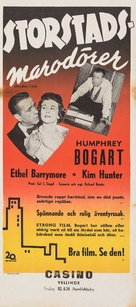 Deadline - U.S.A. - Swedish Movie Poster (xs thumbnail)