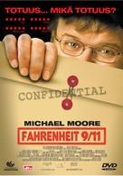 Fahrenheit 9/11 - Finnish Movie Cover (xs thumbnail)