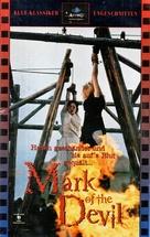 Hexen bis aufs Blut gequält - German VHS movie cover (xs thumbnail)