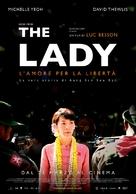 The Lady - Italian Movie Poster (xs thumbnail)