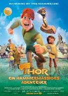Hetjur Valhallar - Þór - German Movie Poster (xs thumbnail)