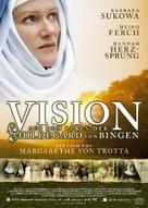 Vision - Aus dem Leben der Hildegard von Bingen - German Movie Poster (xs thumbnail)