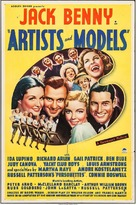 Artists & Models - Movie Poster (xs thumbnail)