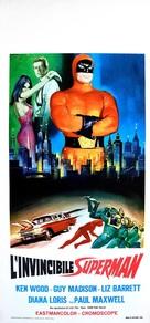L'invincibile Superman - Italian Movie Poster (xs thumbnail)