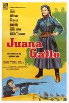 Juana Gallo - Argentinian Movie Poster (xs thumbnail)