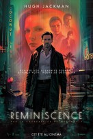 Reminiscence - French Movie Poster (xs thumbnail)