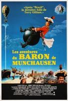 The Adventures of Baron Munchausen - Belgian Movie Poster (xs thumbnail)
