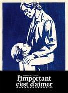 L'important c'est d'aimer - DVD cover (xs thumbnail)