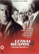 Lethal Weapon 4 - British DVD cover (xs thumbnail)