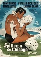 Mister Cory - Danish Movie Poster (xs thumbnail)