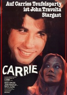 Carrie - German Re-release movie poster (xs thumbnail)