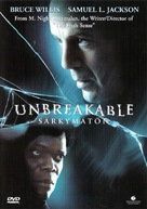 Unbreakable - Finnish Movie Cover (xs thumbnail)