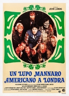 An American Werewolf in London - Italian Theatrical poster (xs thumbnail)