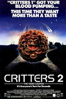 Critters 2: The Main Course - Movie Poster (xs thumbnail)