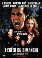 Any Given Sunday - French DVD movie cover (xs thumbnail)