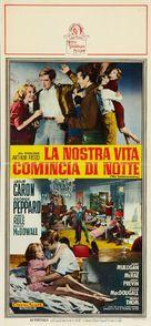 The Subterraneans - Italian Movie Poster (xs thumbnail)
