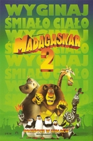 Madagascar: Escape 2 Africa - Polish Movie Poster (xs thumbnail)