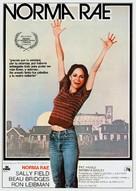 Norma Rae - Spanish Movie Poster (xs thumbnail)