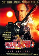 Highlander 3 - German Movie Poster (xs thumbnail)