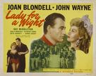 Lady for a Night - Movie Poster (xs thumbnail)