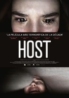 Host - Spanish Movie Poster (xs thumbnail)