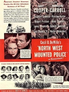 North West Mounted Police - poster (xs thumbnail)