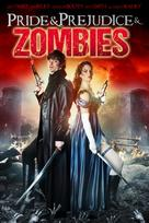 Pride and Prejudice and Zombies - British Movie Cover (xs thumbnail)