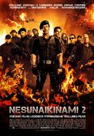 The Expendables 2 - Lithuanian Movie Poster (xs thumbnail)