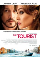 The Tourist - German Movie Poster (xs thumbnail)