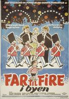 Far til fire i byen - Danish Movie Poster (xs thumbnail)