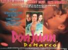 Don Juan DeMarco - British Movie Poster (xs thumbnail)