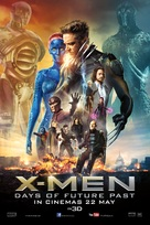 X-Men: Days of Future Past - Malaysian Movie Poster (xs thumbnail)