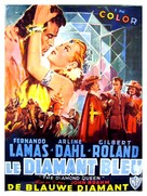 The Diamond Queen - Belgian Movie Poster (xs thumbnail)