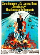 Diamonds Are Forever - Italian Movie Poster (xs thumbnail)